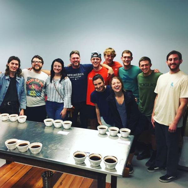 Springbok Coffee Cupping Friends