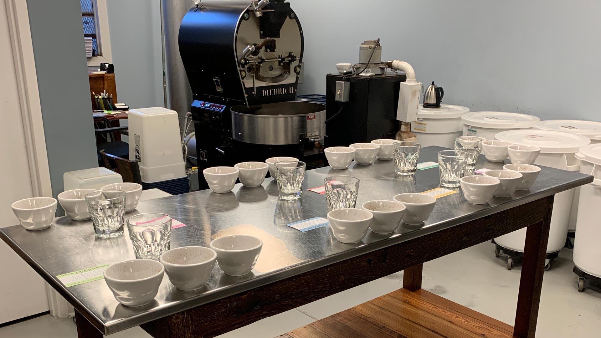 Springbok Coffee Cupping