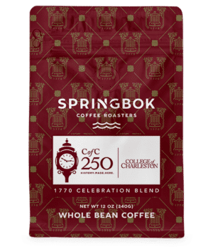 Springbok Coffee College of Charleston